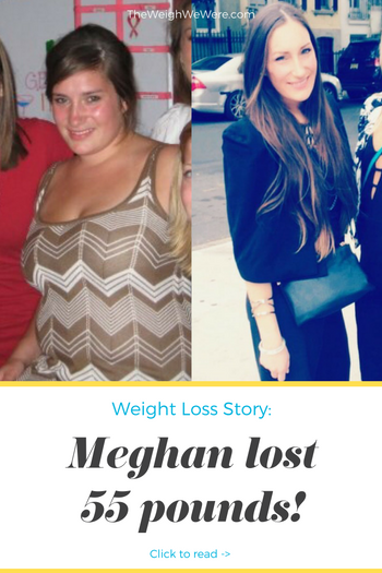 Meghan lost 55 pounds! See my before and after weight loss pictures, and read amazing weight loss success stories from real women and their best weight loss diet plans and programs. Motivation to lose weight with walking and inspiration from before and after weightloss pics and photos.