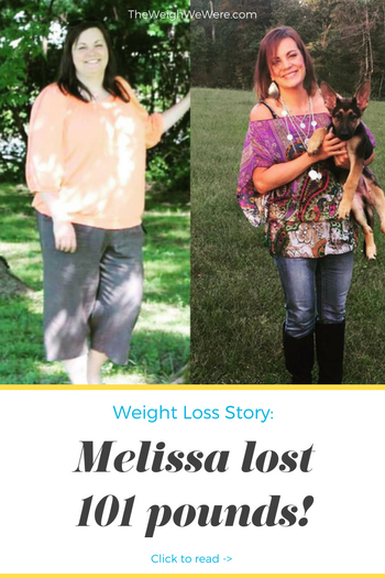 Melissa Lost 101 Pounds