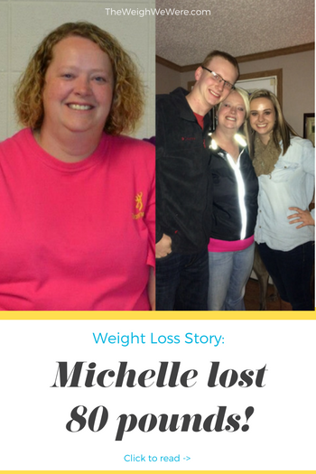 Real Weight Loss Success Stories: Michelle Loses 80 Pounds ...