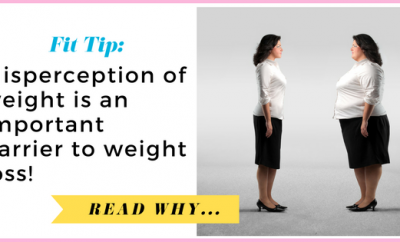 Misperception of weight is an important barrier to weight loss| via TheWeighWeWere.com