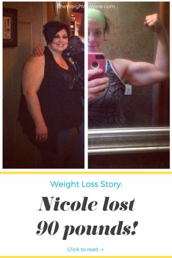 Nicole Lost 90 Pounds