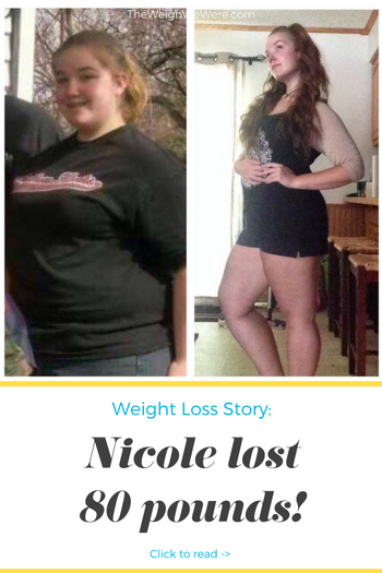 Nicole Lost 80 Pounds