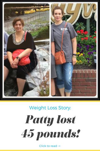 Patty Lost 45 Pounds