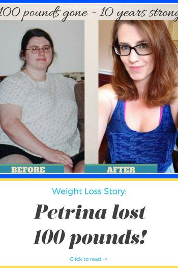 Petrina Lost 100 Pounds