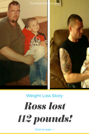 I lost 112 pounds! Read my weight loss success story and see my before and after weight loss pictures at the website The Weigh We Were. Hundreds of success stories, articles and photos of weight loss diet plans for men, tips for how to lose weight for men. Build muscle and lose belly fat with healthy male weight loss transformation pics for inspiration!