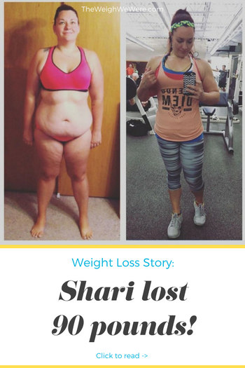Shari Lost 90 Pounds