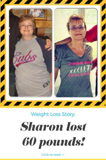 Sharon Lost 60 Pounds