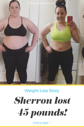 Sherron Lost 45 Pounds