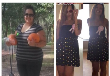 Weight Loss Before and After: Stella's 133 Pound Weight Loss Transformation Story