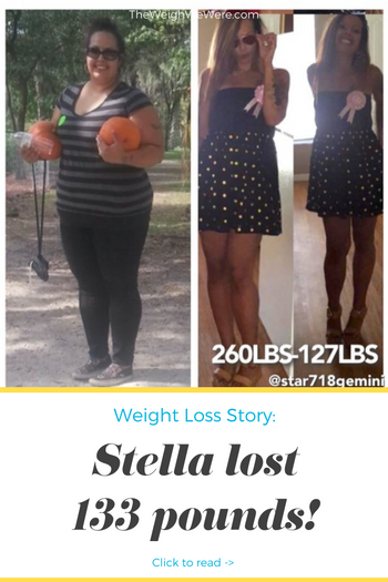 Stella lost 133 pounds! See my before and after weight loss pictures, and read amazing weight loss success stories from real women and their best weight loss diet plans and programs. Motivation to lose weight with walking and inspiration from before and after weightloss pics and photos.