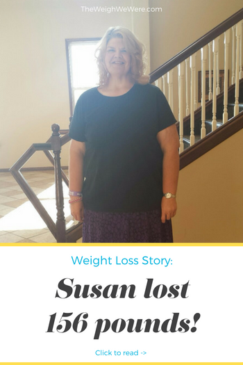 Susan Lost 156 Pounds