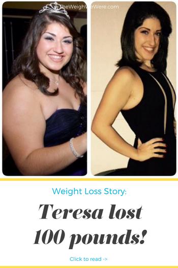 Teresa Lost 100 Pounds
