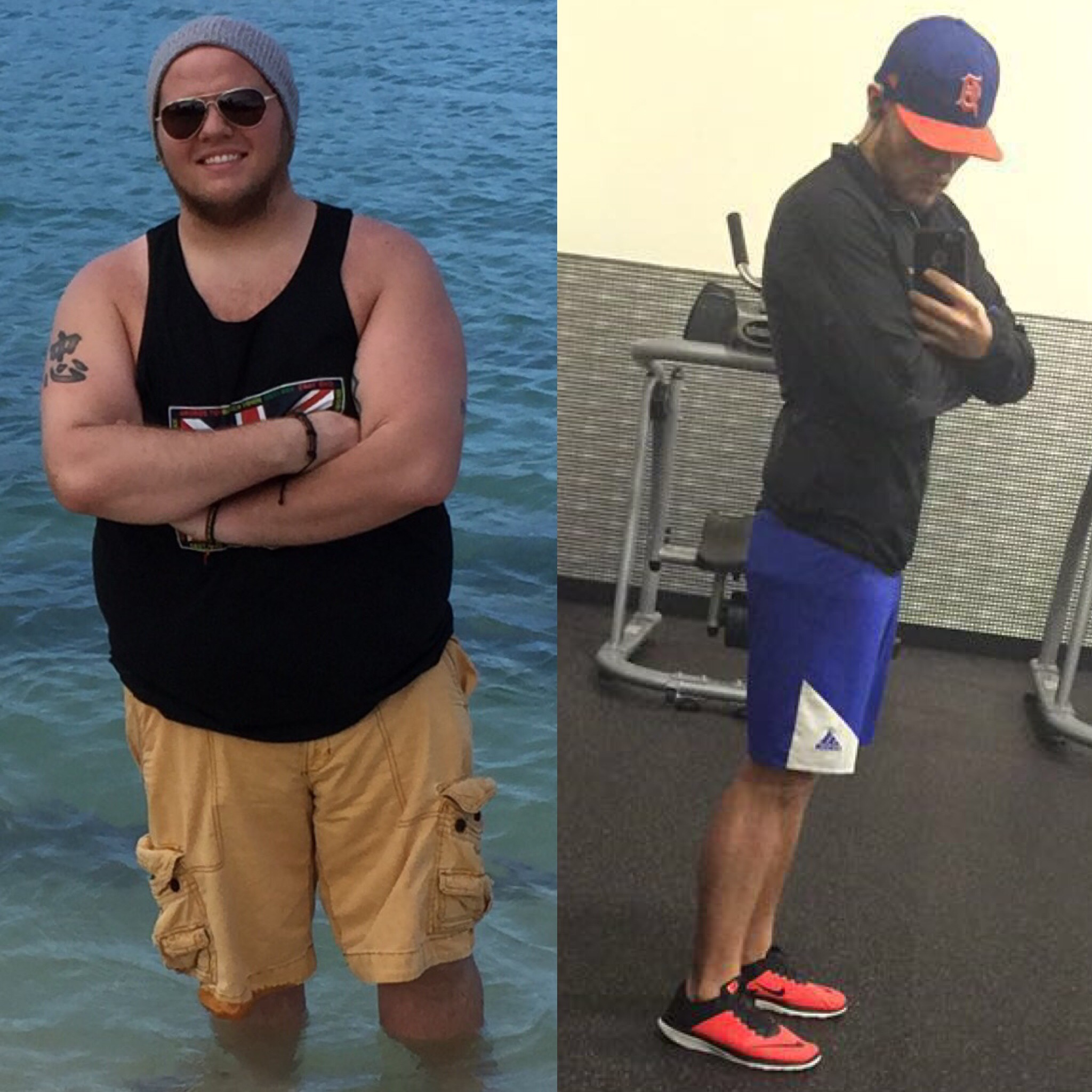 I lost 98 pounds! Read my weight loss success story and see my before and after weight loss pictures at the website The Weigh We Were. Hundreds of success stories, articles and photos of weight loss diet plans for men, tips for how to lose weight for men. Build muscle and lose belly fat with healthy male weight loss transformation pics for inspiration!