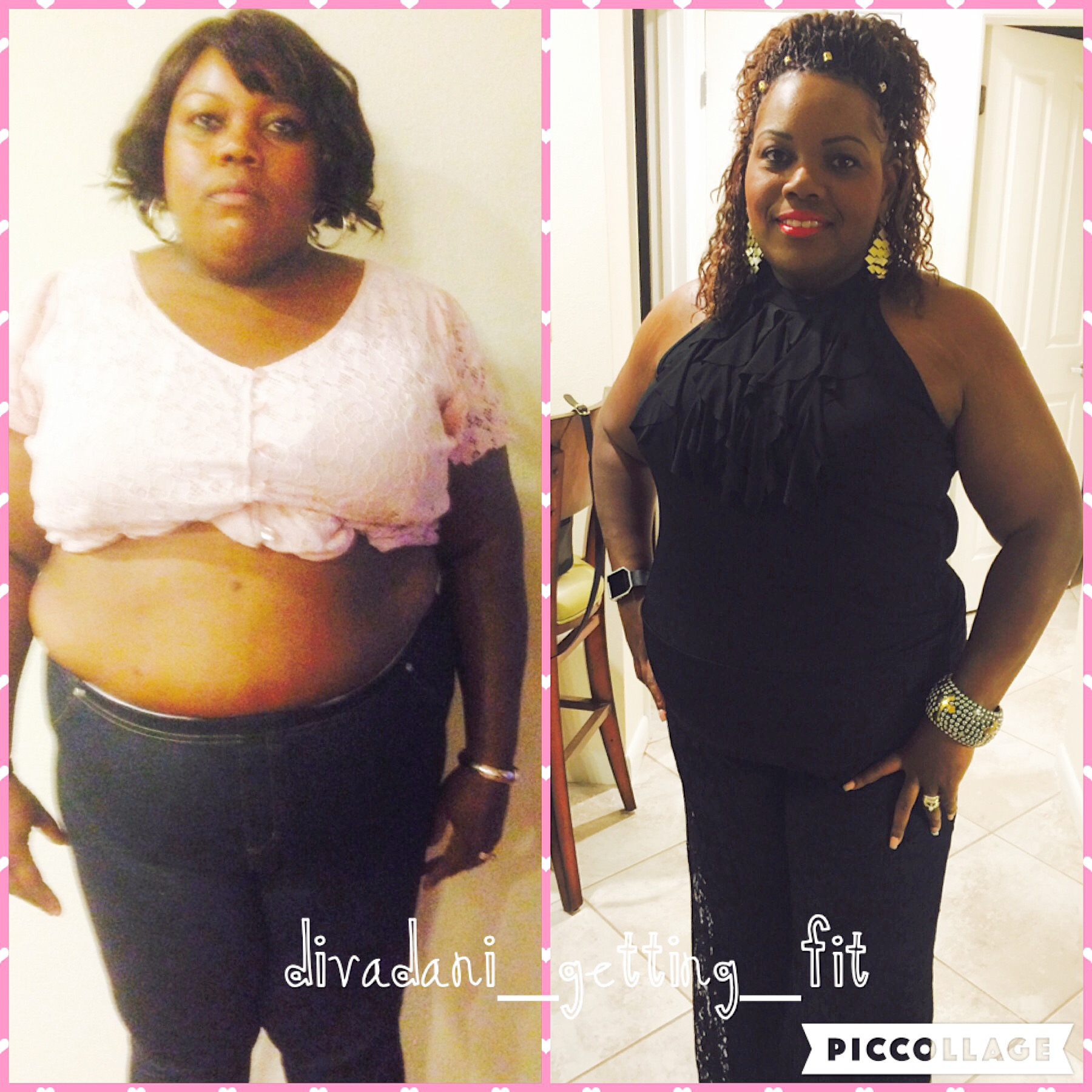 I lost over 70 pounds! Read my weight loss success story at the inspiration weightloss website The Weigh We Were.  Beautiful black women losing weight with clean eating habits, lifestyle changes, meal plans and diet programs. Before and after African American pictures, motivation, fitspo and workout gym tips.