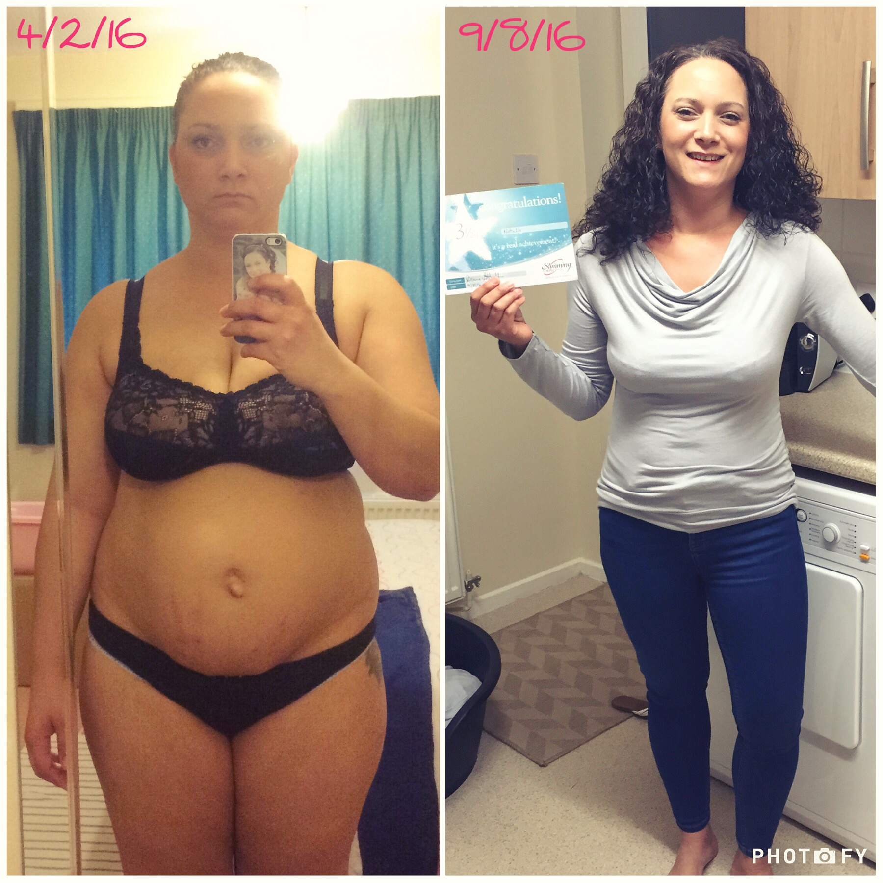 Natalie lost 49.5 pounds! See my before and after weight loss pictures, and read amazing weight loss success stories from real women and their best weight loss diet plans and programs. Motivation to lose weight with walking and inspiration from before and after weightloss pics and photos.