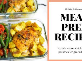 meal prep greek lemon chicken fb