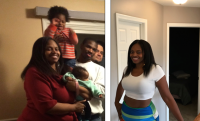 Weight Loss Success Story:  Ileka's 110 Pound Weight Loss Transformation