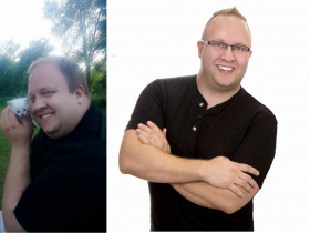 90 pound diabetic weight loss transformation